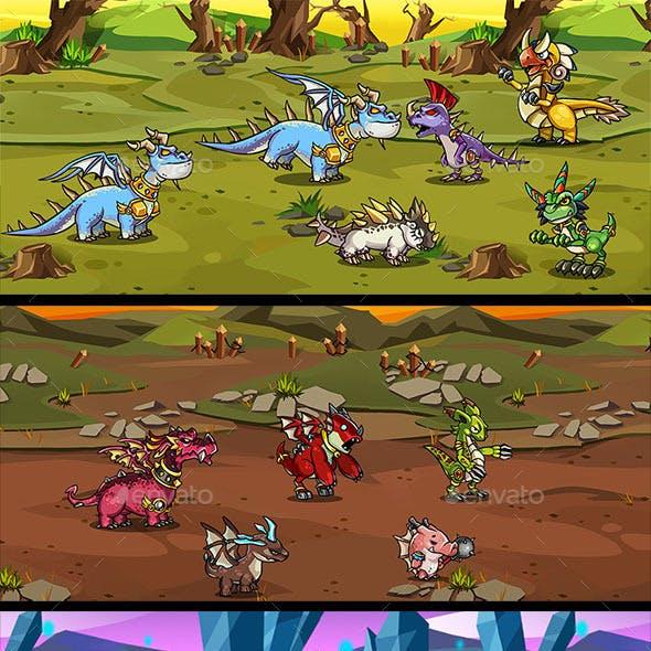 20 RPG Dragons Pack