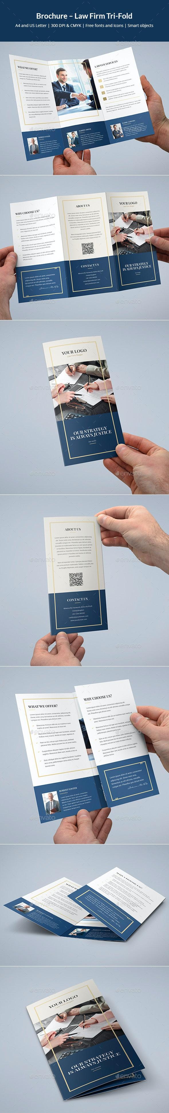 Brochure – Law Firm Tri-Fold - Corporate Brochures