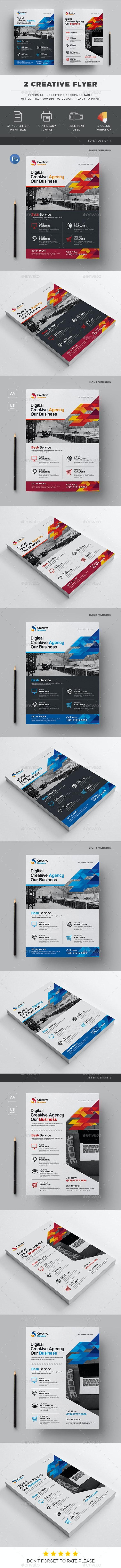 Flyer 2 Design - Corporate Flyers
