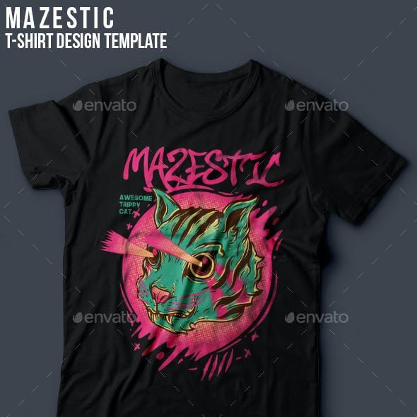 Mazestic T-Shirt Design