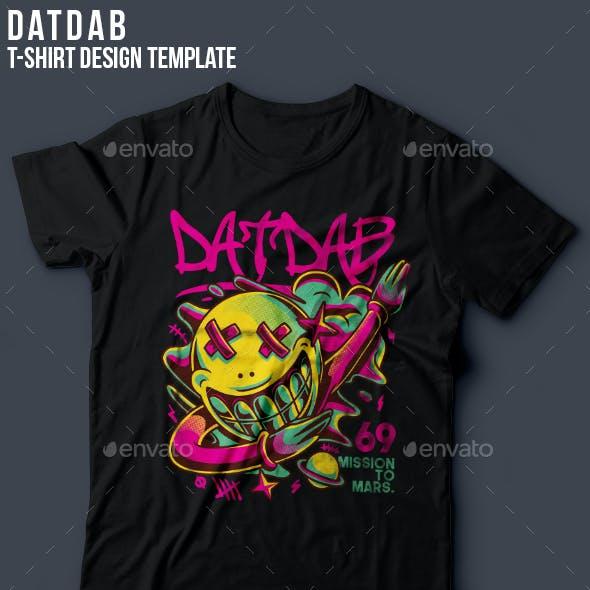 Dat Dab T-Shirt Design