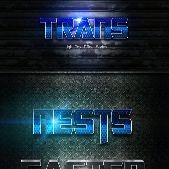 Trans Text Effect V05