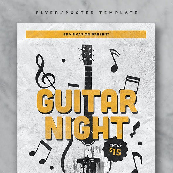 Indie Flyer/Poster Template Vol.25