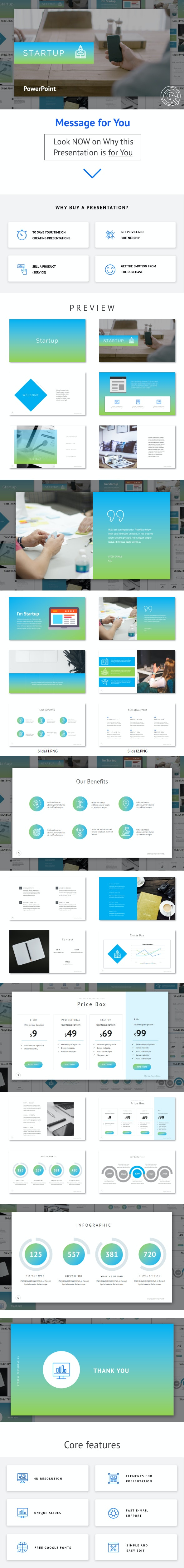 Startup - Powerpoint Template - PowerPoint Templates Presentation Templates