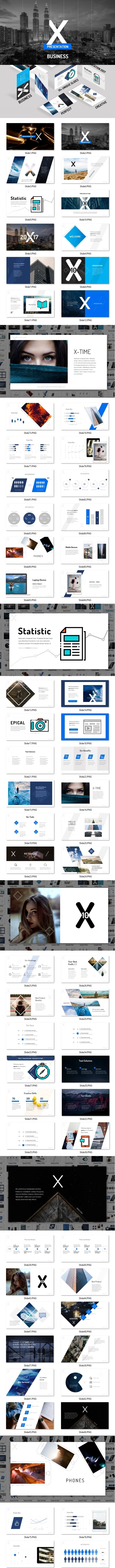 X10 Business - Business Keynote Templates
