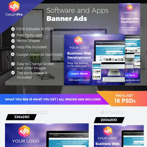 Software Banner Ads