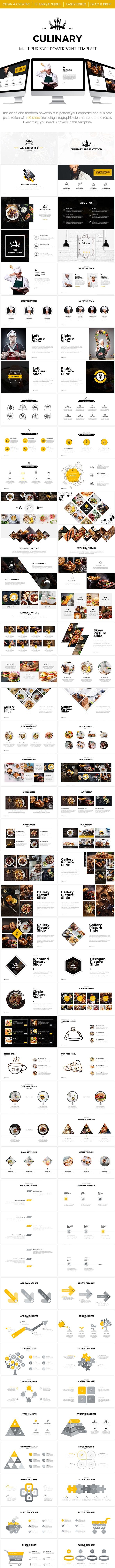 Culinary - MultipurposePowerpoint Template - PowerPoint Templates Presentation Templates
