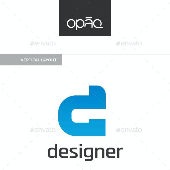 Designer D Letter Logo