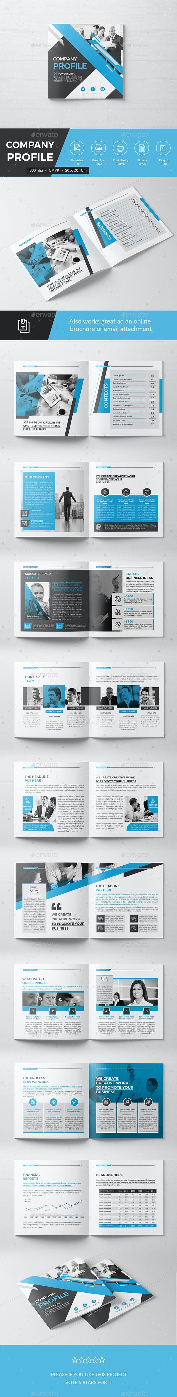 Square Company Brochure - Corporate Brochures