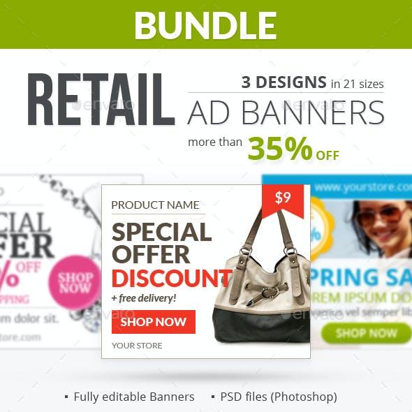 Retail Banner Ads - Bundle 2