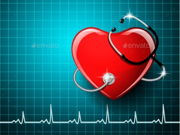 Stethoscope Medical Equipment - Health/Medicine Conceptual