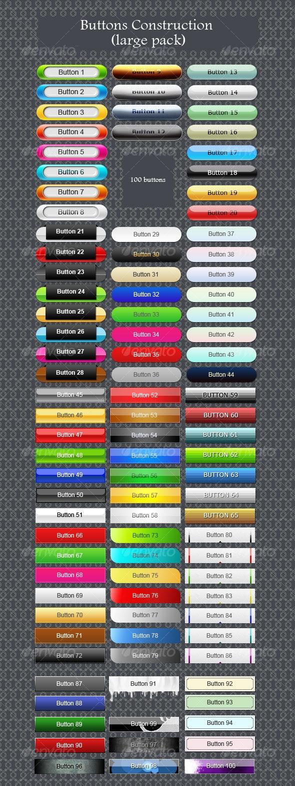 Buttons construction - Buttons Web Elements