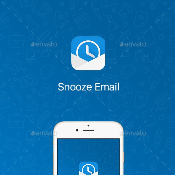 Snooze Mail UI Graphic