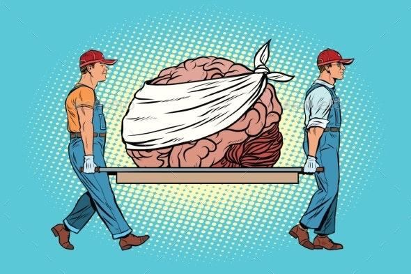Bandaged Brain Repair - Miscellaneous Conceptual