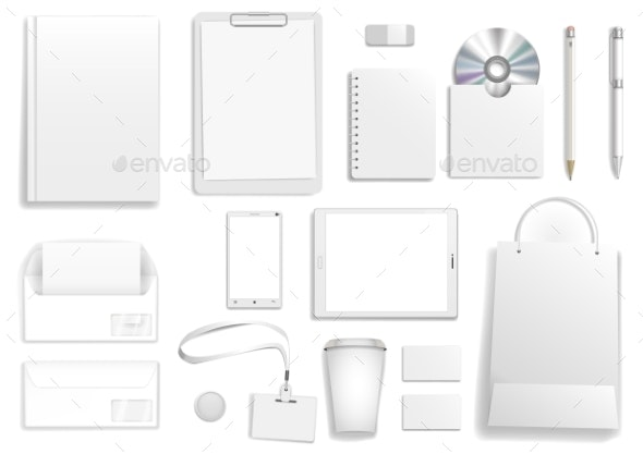 White Corporate Mock Up - Concepts Business