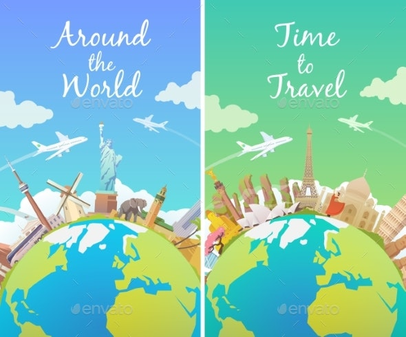 Travel the World - Landscapes Nature
