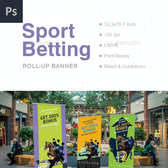 Betting Roll-Up Banner