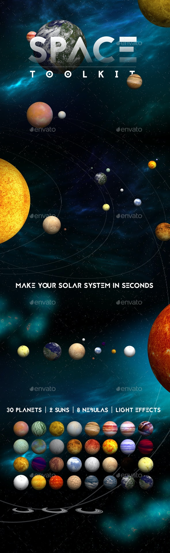 Space Toolkit - Miscellaneous Backgrounds