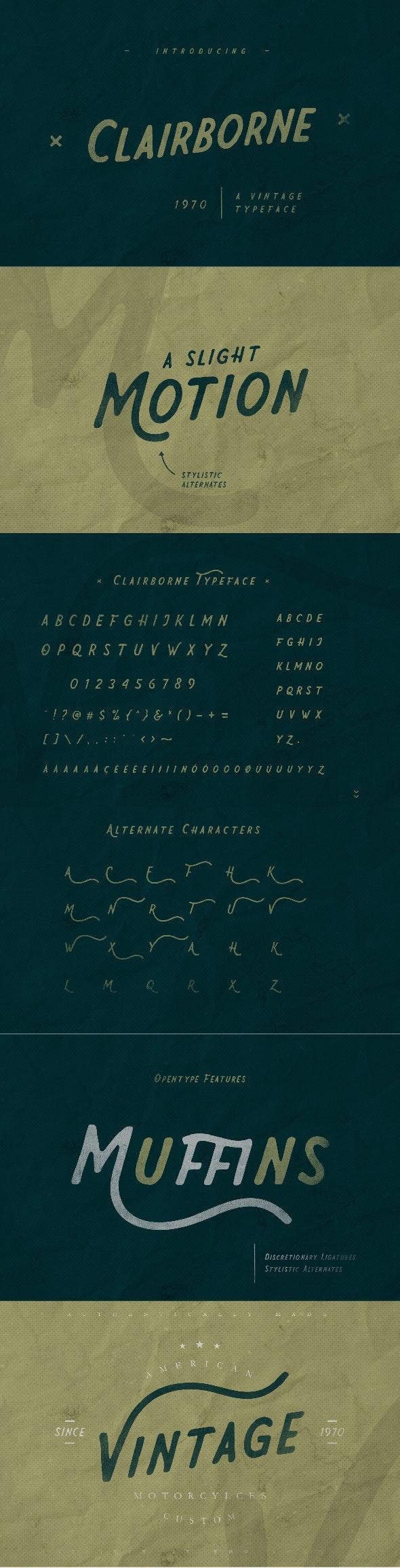 Clairborne - Sans-Serif Fonts