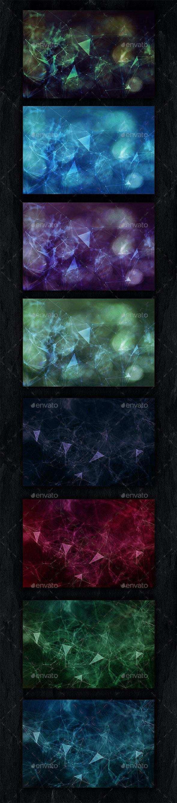 20 Plexus - Abstract Backgrounds