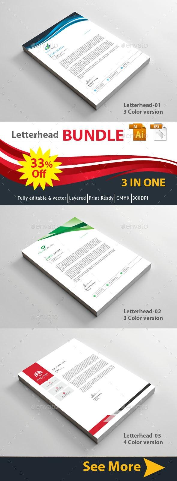 Letterhead - Certificates Stationery