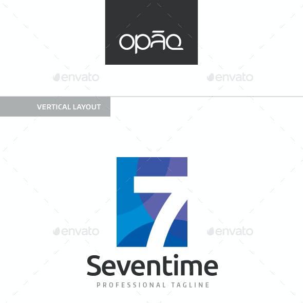 Seven 7 Number Logo