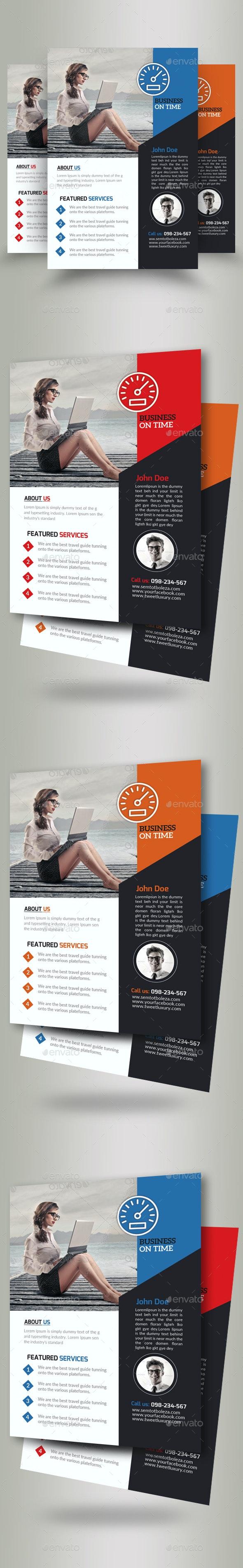 Business Motivation Flyer Template - Corporate Flyers