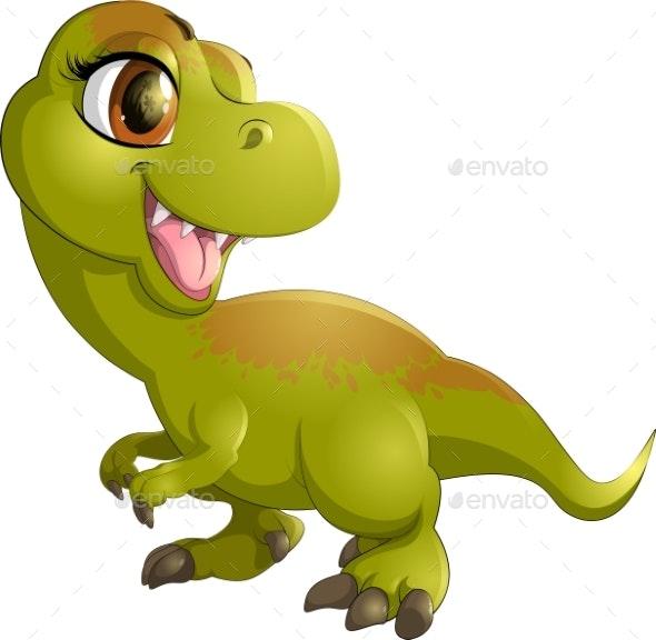 Cartoon Dinosaur - Monsters Characters