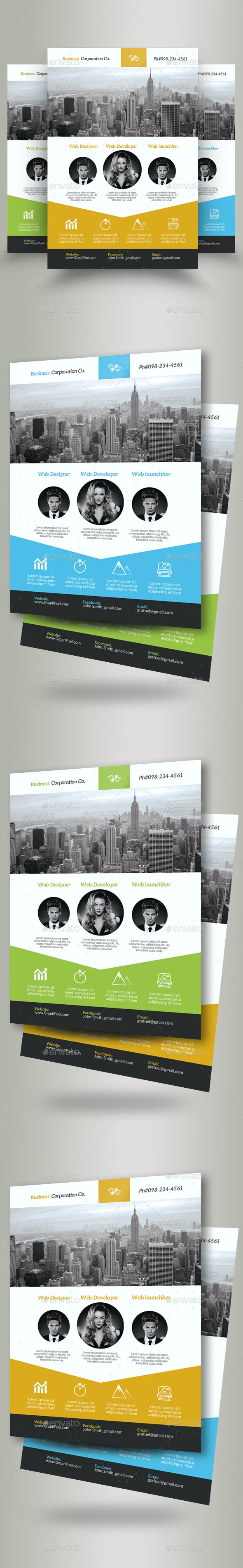 Business Corporate Agency Flyer - Corporate Flyers