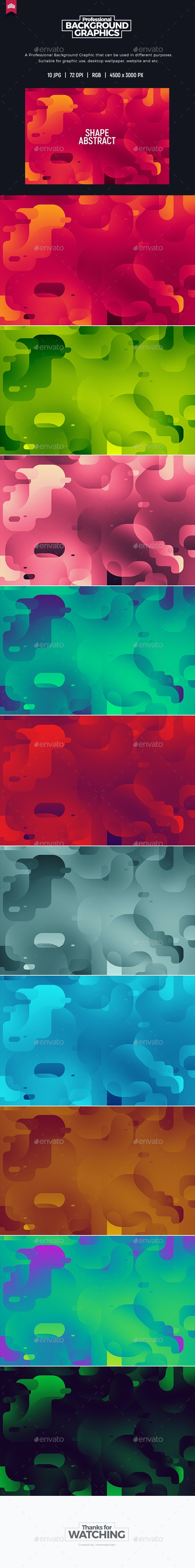 Shape Abstract Background - Abstract Backgrounds