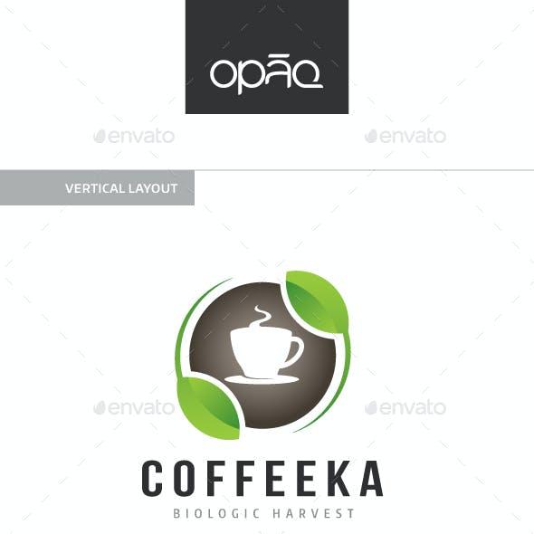 Coffee Cup Organic Logo