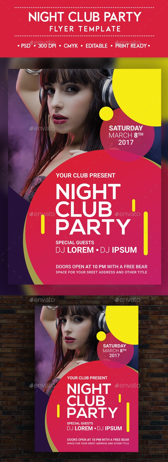 Night Club Party - Clubs & Parties Events