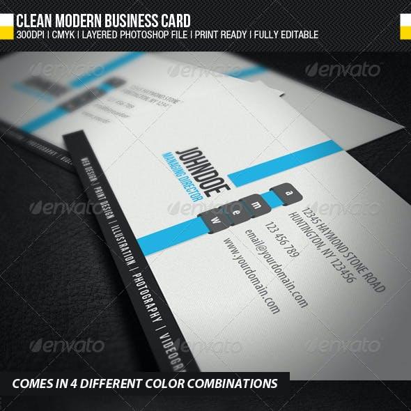 Compre sua arte para Cartão de Visita Limpeza moderna personalizado