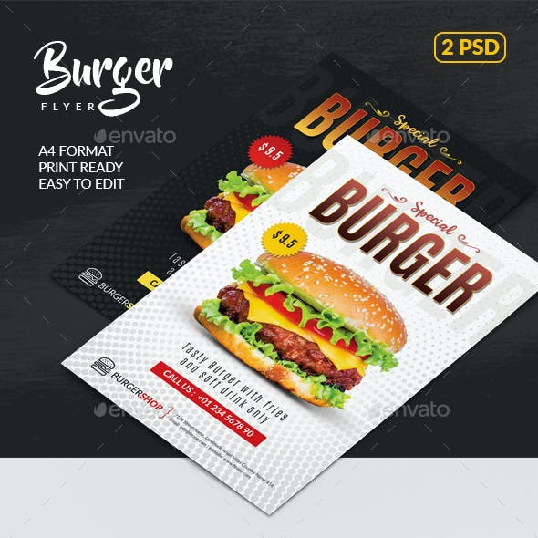 Burger Flyer Templates