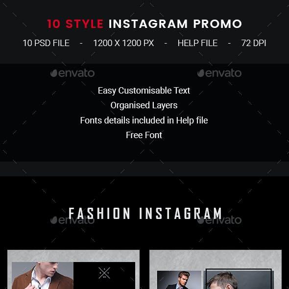 10 Instagram Fashion Promo