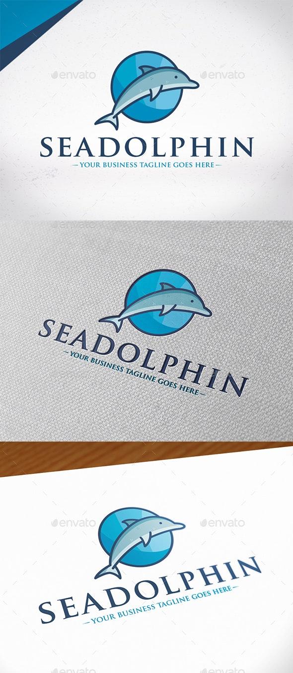 Sea Dolphin Logo Template - Animals Logo Templates