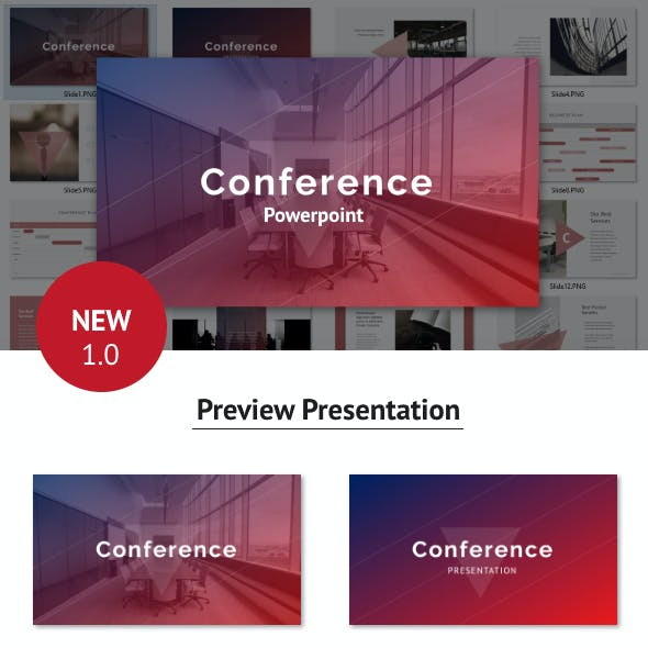 Conference -  Powerpoint Template