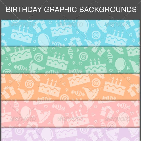Birthday Graphic Background