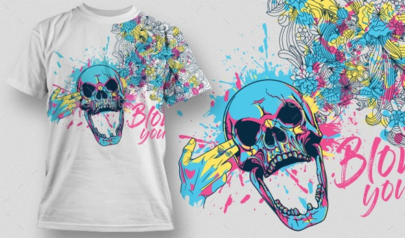 Blow your mind - Designs T-Shirts
