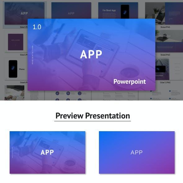 App - Powerpoint Template