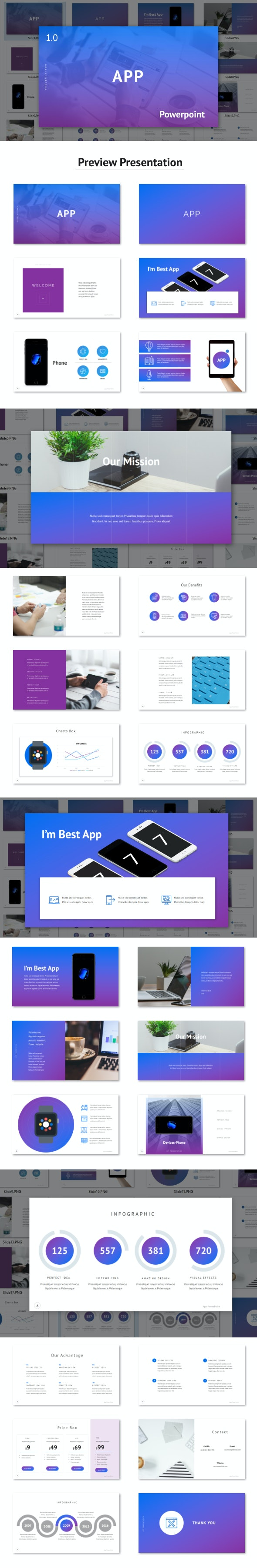 App - Powerpoint Template - PowerPoint Templates Presentation Templates