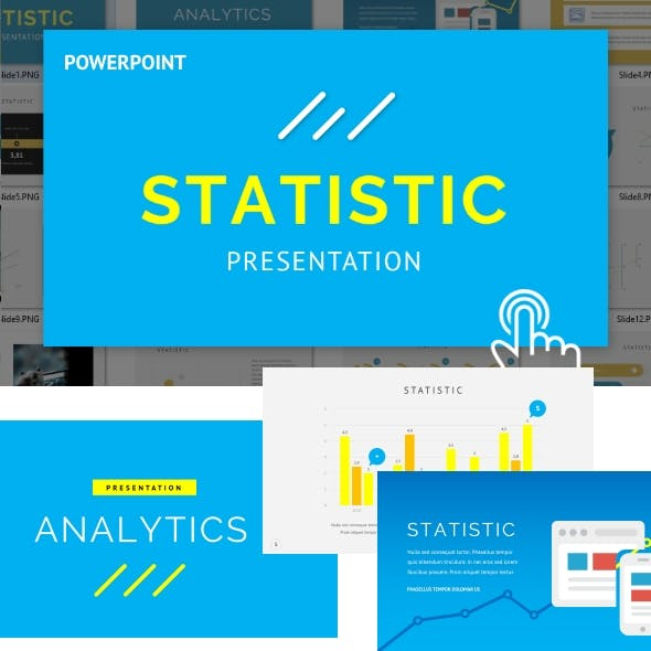 Statistic - Powerpoint Template