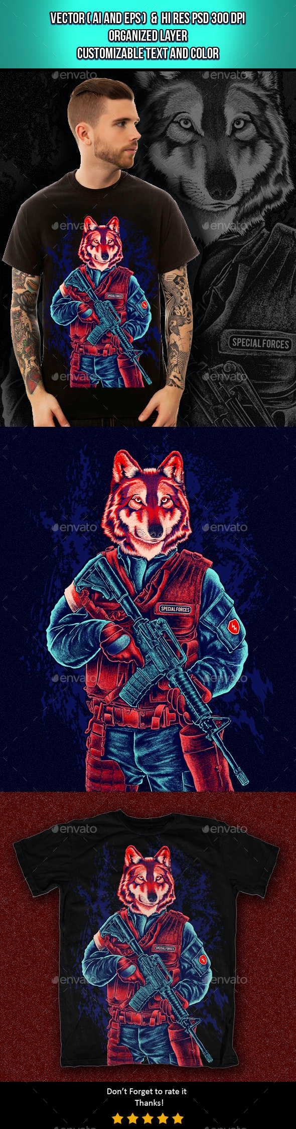 Special Forces - T-Shirts