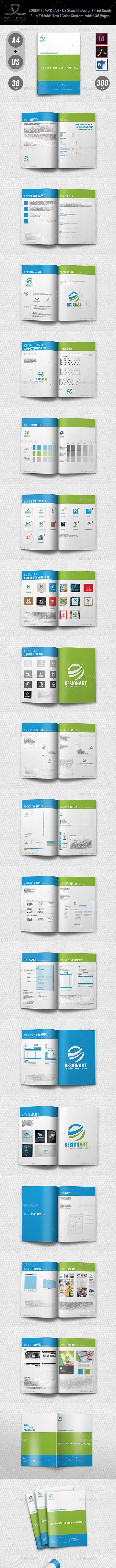 Brand Manual Vol.2 - Brochures Print Templates
