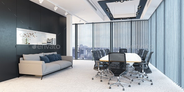 3D Rendering Conference Room - Architecture 3D Renders