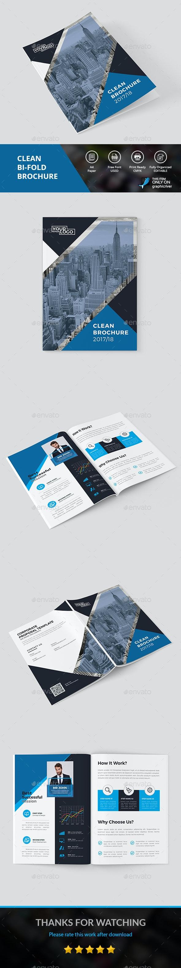 Clean Brochure - Corporate Brochures
