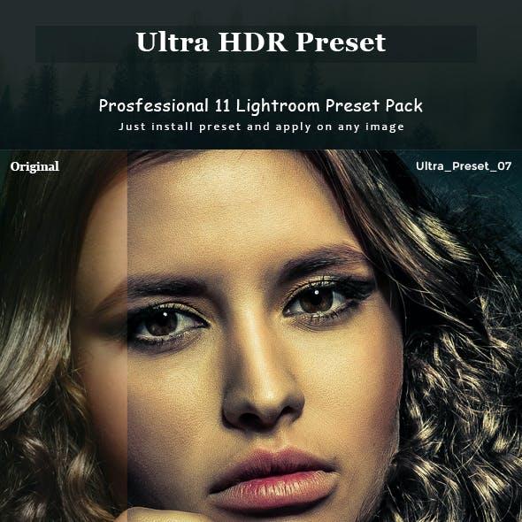 Ultra HDR Lightroom Preset
