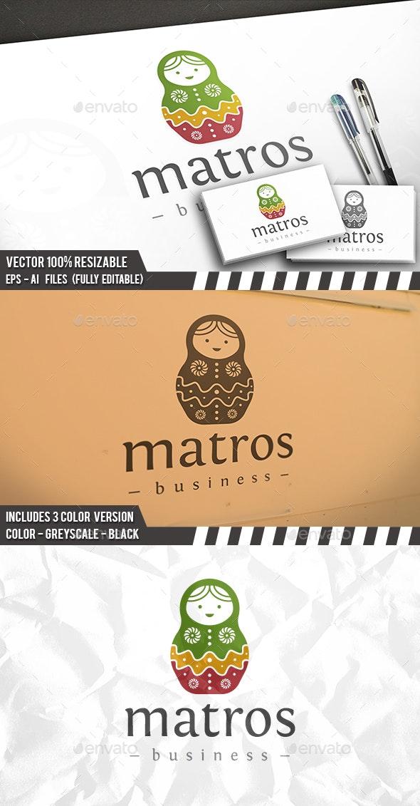 Matrioska Logo - Humans Logo Templates