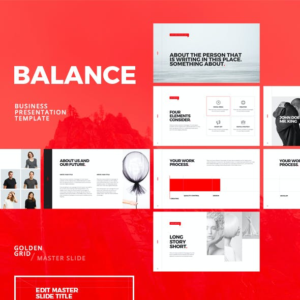 Balance Powerpoint Template