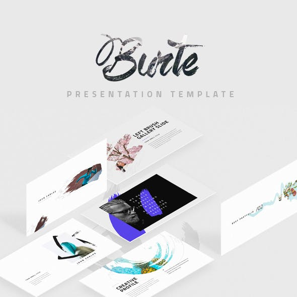 Burte Keynote Template